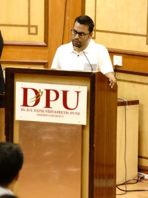 Induction program for BBA students at DY Patil college PUNE by Rohit Ghosh, CEO and Cofounder, Skilledge