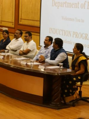 Induction program for BBA students at DY Patil college PUNE by Rohit Ghosh, CEO and Cofounder, Skilledge- Panel